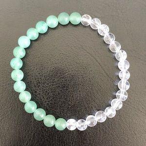Crystal healing bracelet (good luck & prosperity)